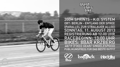 Grand Theft Bike Berlin Sprints