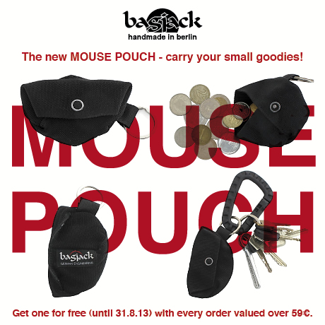 The new MOUSE POUCH
